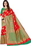 MSRETAIL Silk with Blouse Piece Saree