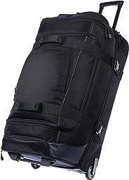 AmazonBasics 30 Inch (76.2 cm) Duffel Trolley Bag - Black