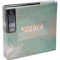 Exacompta - Réf. 62222E - Album photos à pochettes PASTEL TROPIC - 200 photos 10x15 cm - 100 pages - Format 22,5x32,5 cm…