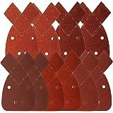 TOOGOO 40 feuilles de poncage de souris pour convient a Noir et KA161BC Detail Ponceuse a paume de toutes niveaux