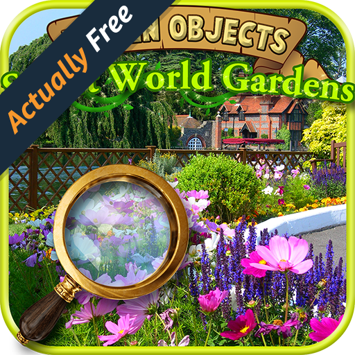 Hidden Objects Secret World Gardens - Seek, Find the Difference Puzzle Finder Games FREE