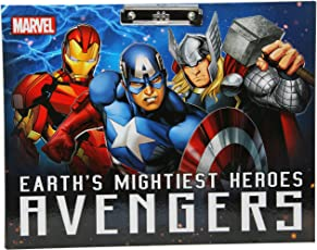 HMI Licensed Disney & Marvel Characters Drawing Clip Board Exam Board, A3 Size (Avengers 1)