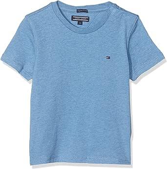 Tommy Hilfiger Boys Basic CN Knit S/S Maglietta Bambino