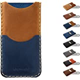 Estuche billetera personalizada para iPhone, con bolsillos para tarjetas de crédito