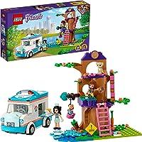 LEGO Friends L'ambulanza della Clinica Veterinaria, Playset Salvataggio degli Animali con Mini-doll di Emma e Olivia…