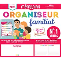 Livres Organiseur familial Mémoniak 2020-2021 - Calendrier sur 16 mois de sept 2020 à déc 2021 : des magnets ultra-solides et poster des règles positives de la famille en cadeau ! PDF