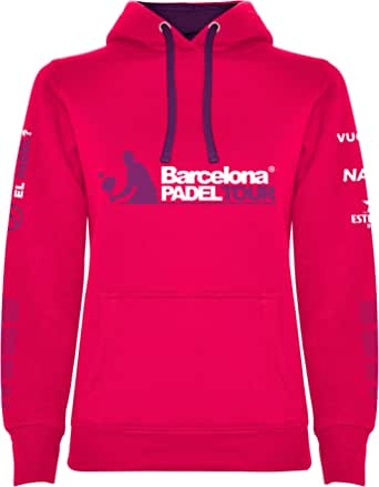 Barcelona Padel Tour Felpa con Zip Intera Unisex