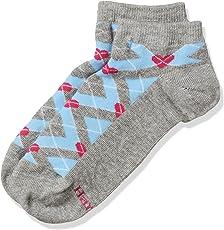 Hanes Women's Socks (V301-615-P1_Assorted_Free Size)