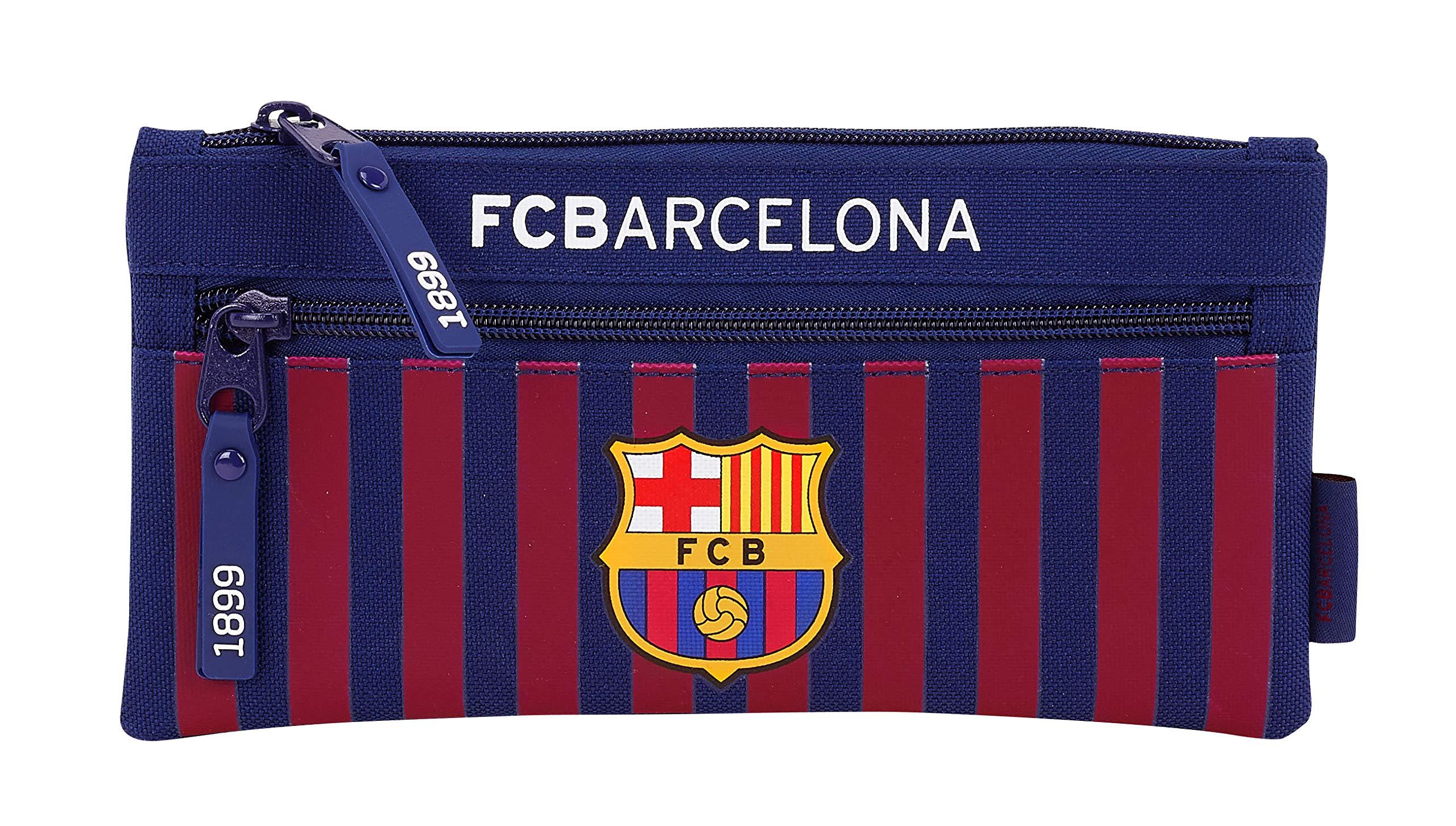 FC Barcelona 811829029 2018 Estuches 22 cm, Azul