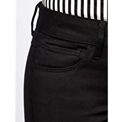 G STAR RAW 3301 Deconstructed Mid Waist Skinny Jeans Ajustados Negro Raw Denim 6245 001 33W 32L para Mujer