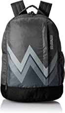 American Tourister 28 Ltrs Grey Casual Backpack (AMT Twist Backpack 02 - Grey)