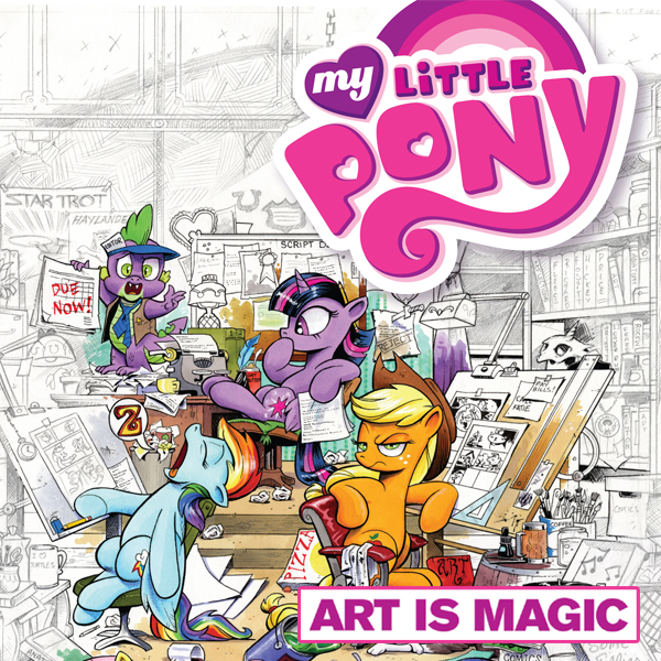 My Little Pony: Art Is Magic! (Issues) (2 Book Series) (Crystal Cuties)