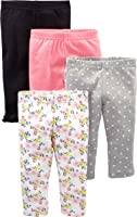 Simple Joys by Carter's 4-Pack Pant Bimba 0-24