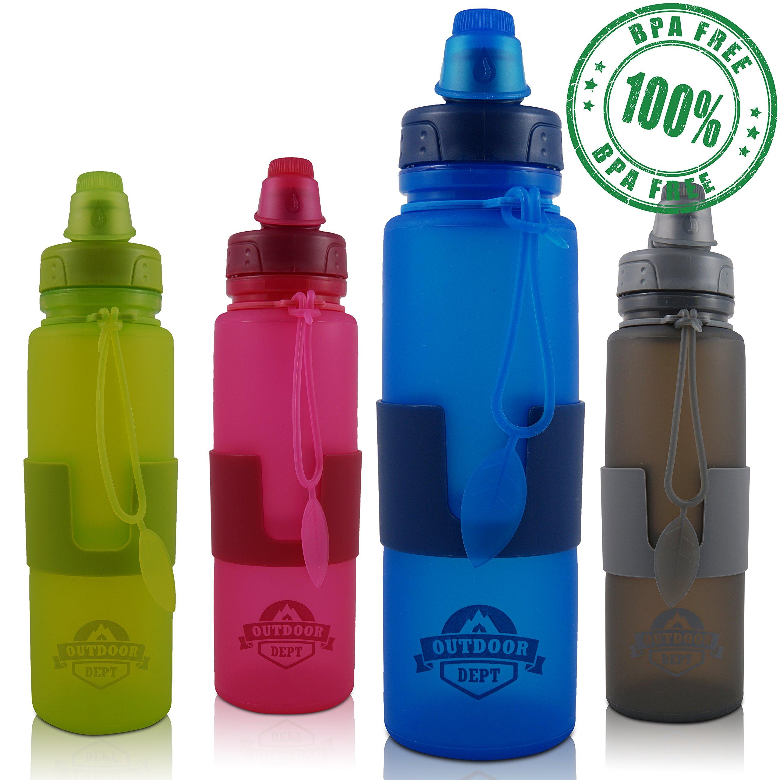 OUTDOOR DEPT Trinkflasche Kinder Isoliert Edelstahl 350 ML BPA Frei – Thermo Edelstahlflasche Kinderflasche mit…