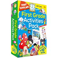 First Grade Activities Pack ( Collection of 10 books) (Smart Scholars)