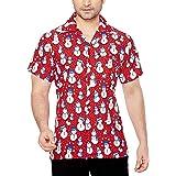 True Face Nuevo Hombres Navidad Hawaiano Impresiones ...