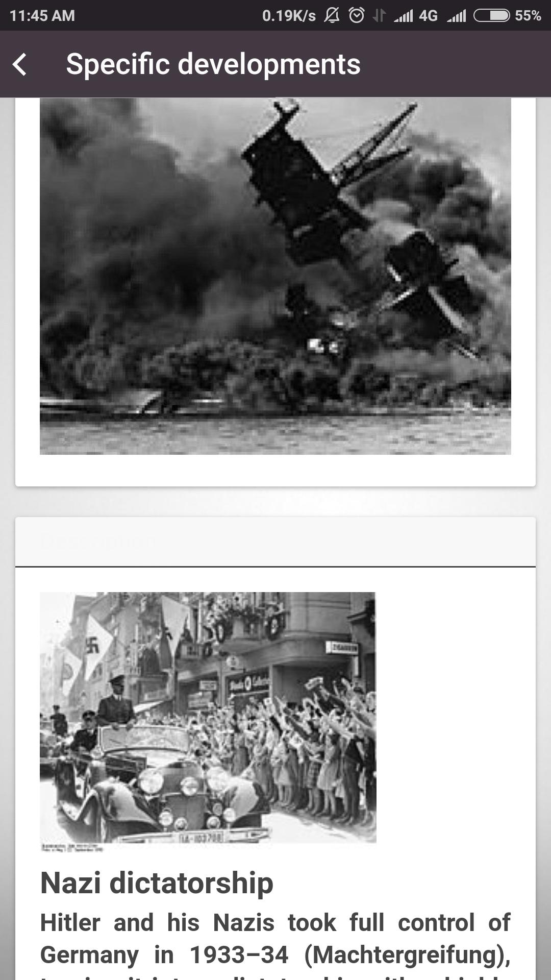 World War 2 Complete History WW2: Amazon.de: Apps für Android