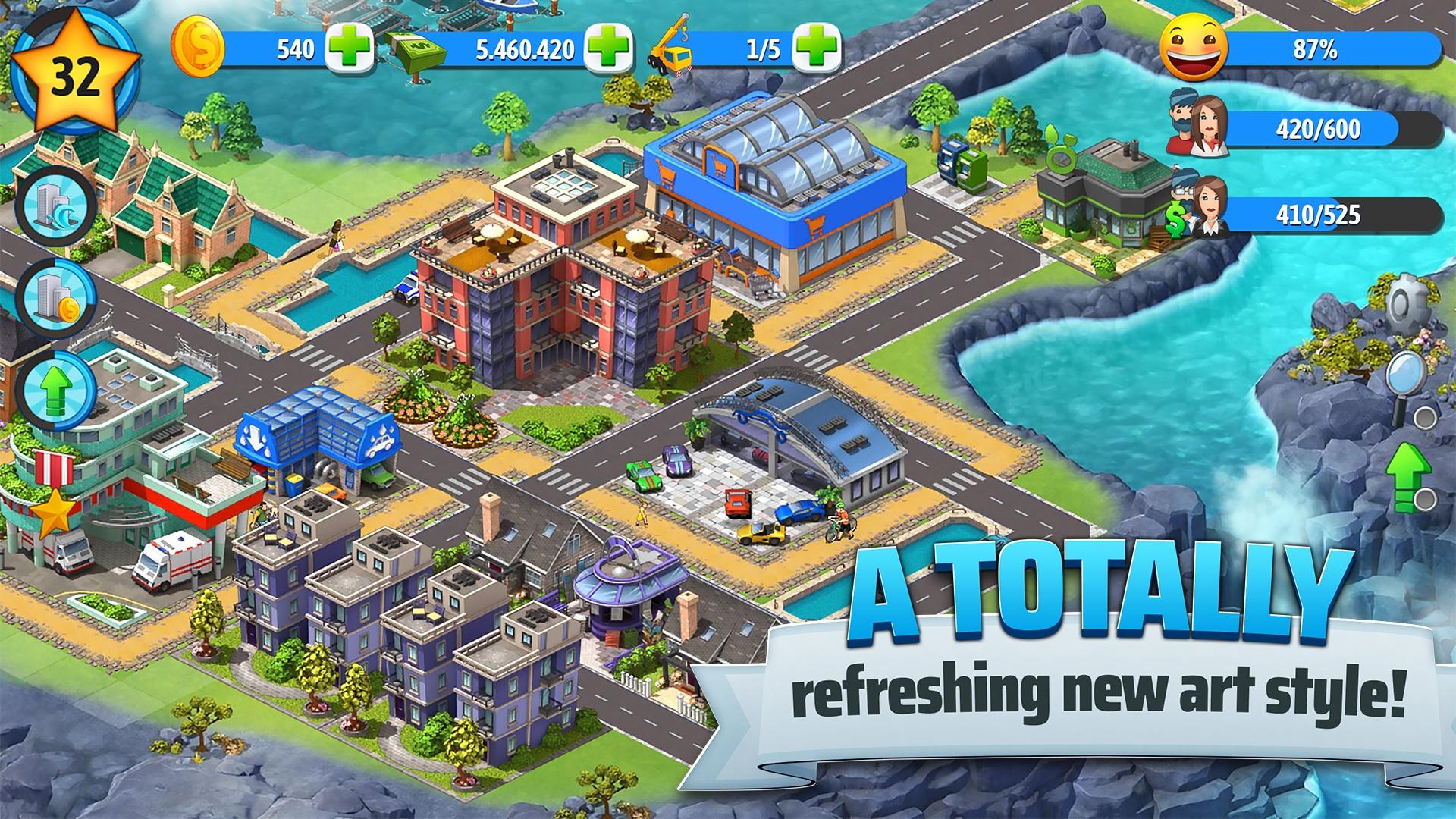 City Island 5 - Tycoon Building Offline Sim Game: Amazon in