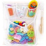 OMZGXGOD - Organizzatore Giocattoli Bagno, Bagnetto Organizzatore Borsa del Giocattolo del Bagno del Bambino Rete Giocattoli
