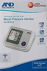 A&D UA-767S-W Blood Pressure Monitor (Multicolor)