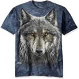 تي شيرت The Mountain Men's Warrior Wolf