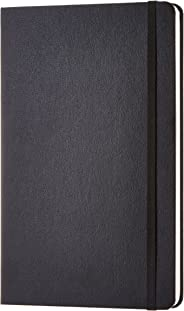 AmazonBasics Classic Notebook, Squared - (130mm x 210mm) - 240 pages (Black)