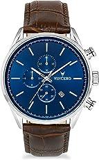 Vincero Luxus Chrono S Herren Armbanduhr - 43mm Chronograph Uhr - Japanisches Quarz Uhrwerk