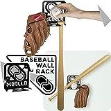 Baseballschläger wandhalterung (100% Stahl)
