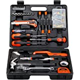 BLACK+DECKER BMT126C Hand Tool Kit (126-Piece) for Home DIY and Professional use