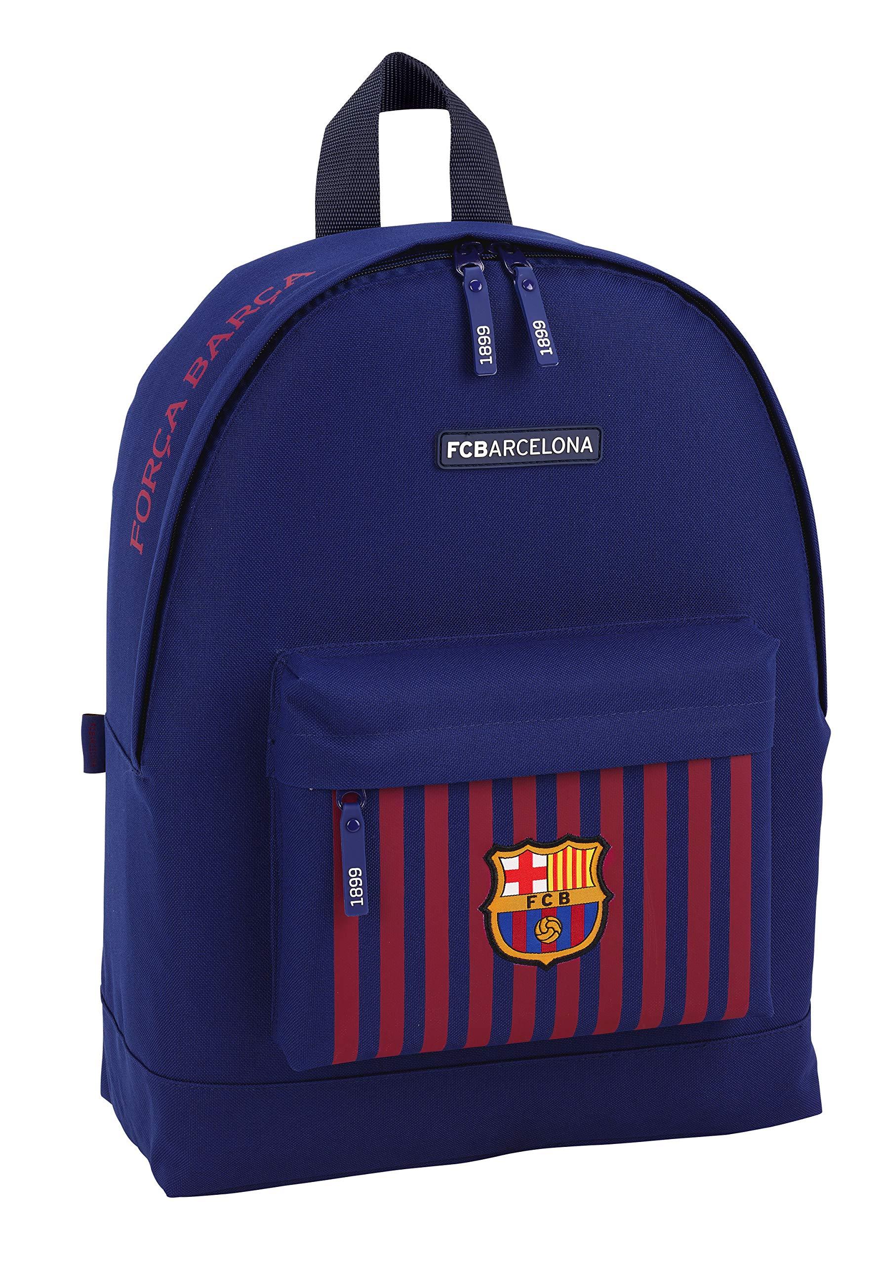 91zEdTtSIzL - FC Barcelona Mochila Grande con Funda Ordenador.