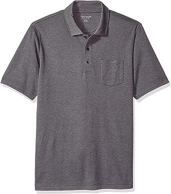 Amazon Essentials Men's Regular Fit Jersey Polo T-Shirt