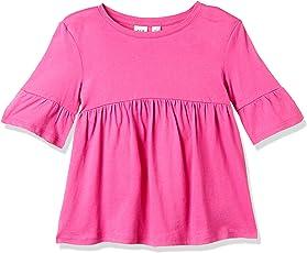 Gap Girls Flutter Sleeve Cinched-Waist Top