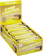 Body Attack Carb Control Protein Riegel Banana Nuts 15 x 100 g, 1er Pack (1 x 1.5 kg)