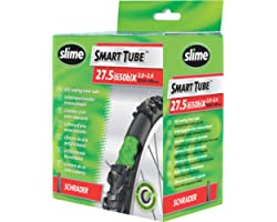Slime 30077 Bike Inner Tube with Slime Puncture Sealant, Self Sealing, Prevent and Repair, Schrader Valve, 50/60-584mm (27.5