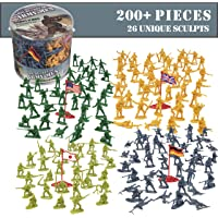 HingFat American, British, German and Japanese Soldiers Army Men Action Figures -202 Pieces