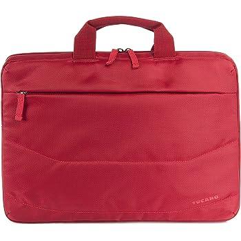 """Tucano Idea B-IDEA-R, Borsa slim per Ultrabook 15"""" e notebook 15.6"""", Rosso"""