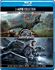 Jurassic World 2 Movies Collection - Jurassic World: Fallen Kingdom + Jurassic World (2-Disc)