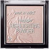 Wet N Wild Highlighter - MegaGlo Highlighting Powder met sterk gepigmenteerde formule, Blossom Glow, 1 stuk, 5,4 g