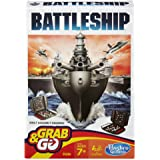 HASBRO Gaming Battleship Grab and Go Game (Travel Size)