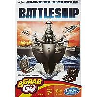HASBRO Gaming Battleship Grab and Go Game (Travel Size)