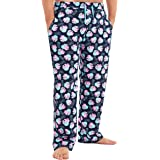 Peppa Pig Pantalon Pijama Hombre, Ropa para Hombre 100% Algodon Suave, Pantalones Largos Hombre de Pijama, Regalos para Hombr