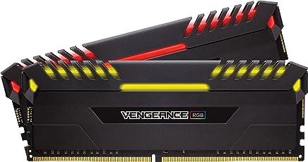 Corsair Vengeance RGB 16GB (2x8GB) DDR4 3200 (PC4-25600) C16 -Intel 100/200 Series PC Memory CMR16GX4M2C3200C16