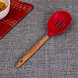 Home Centre Rosemary Skimmer with Wooden Handle - Red