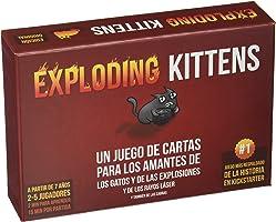 Fantasy Flight Games- Juego de Cartas (Exploding Kittens EKEK0001)