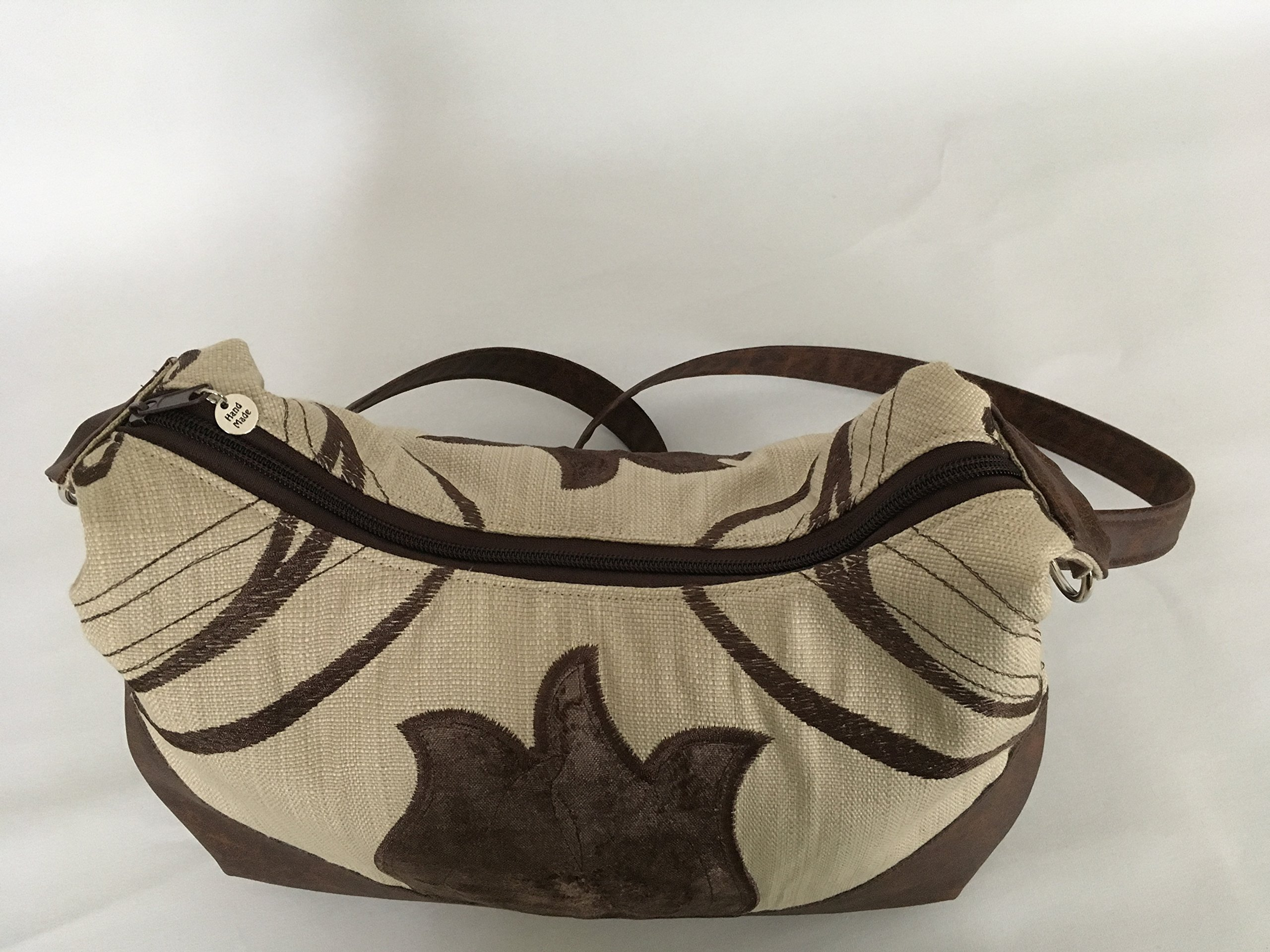 Large Art Deco Style Hobo Bag - handmade-bags