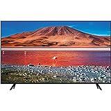 """Samsung TU7070 Smart TV 43"""", Crystal UHD 4K, Wi-Fi, 2020, Classe di Efficienza Energetica A, Nero"""