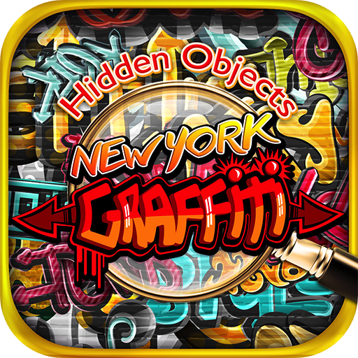 Hidden Objects New York Graffiti - Object Time Puzzle Photo Pic Seek & Find Game