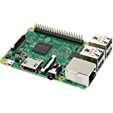Raspberry PI 3 Model B Scheda madre CPU 1.2 GHz Quad Core, 1 GB RAM, 802.11n Wireless LAN, Verde/Argento