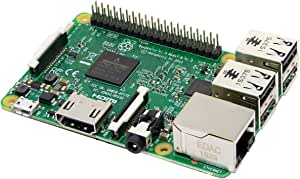 Raspberry Pi 3 Model B, Quad Core CPU 1.2 GHz, 1 GB RAM