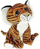 """Amazon Brand - Jam & Honey 7"""" (18cm) Bright Eye Tiger Orange"""
